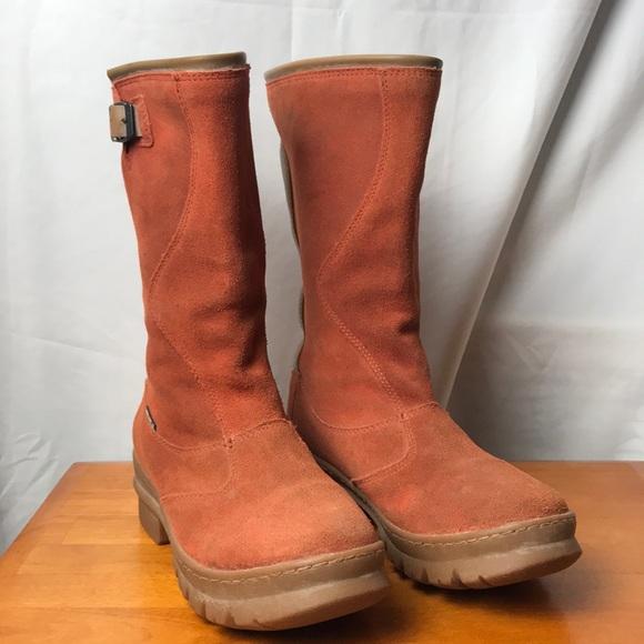 KEEN Willamette Orange Suede calf height Boot Sz:6